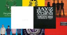 9 monochrome Alben (Nur bezogen auf den Titel ;-))