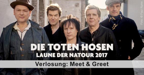 Meet & Greet mit den Toten Hosen
