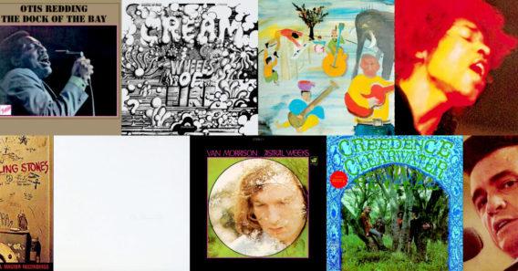 Alben, die 2018 ihren 50. Geburtstag feiern