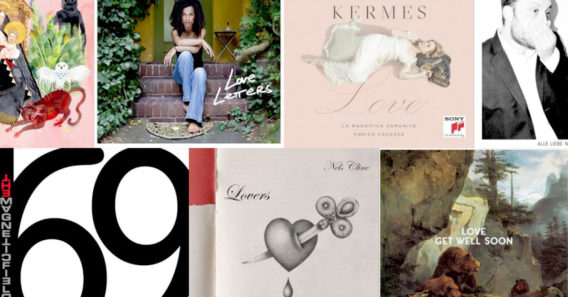 Alben über Liebe