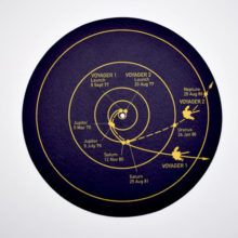 The Voyager Golden Record (Slipmat)