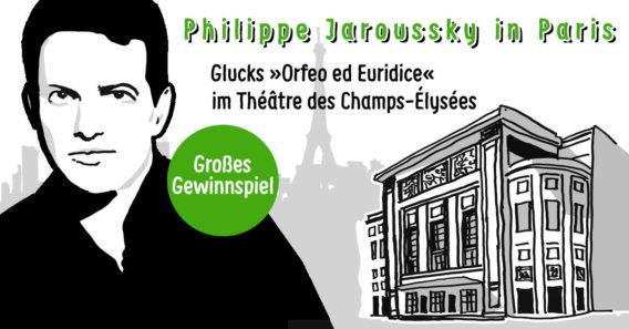 Gewinnspiel: Orfeo in Paris