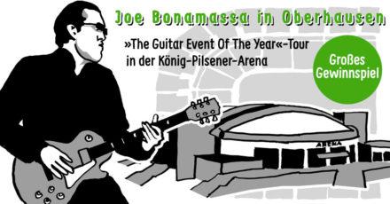 Gewinnspiel: Wir schicken euch zu Joe Bonamassa nach Oberhausen (beendet)