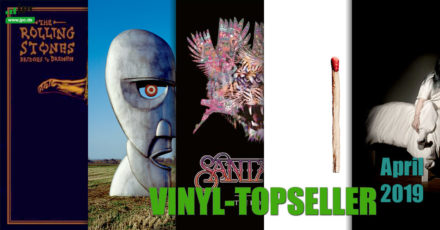 Vinyl-Topseller April 2019