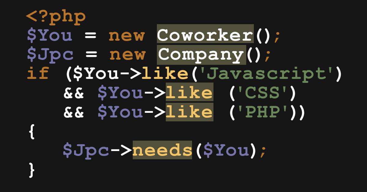 Entwickler gesucht