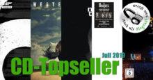 CD-Topseller Juli 2019