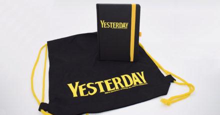 Gewinnspiel: Wir verlosen 2 x 1 Yesterday-Tasche + 1 Yesterday-Song/Notizbuch (Beendet!)