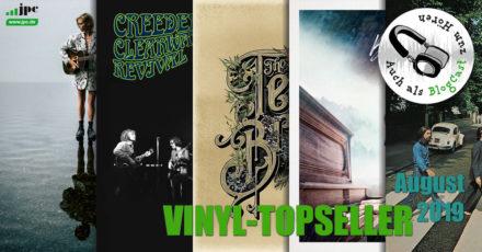 Vinyl-Topseller August 2019