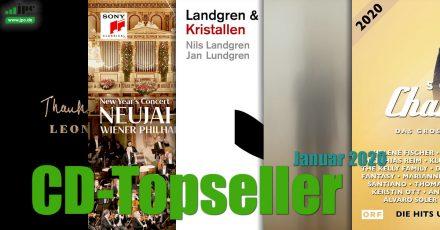 CD-Topseller Januar 2020