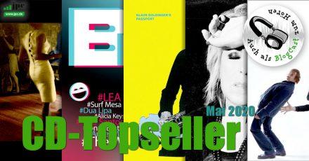 CD-Topseller Mai 2020
