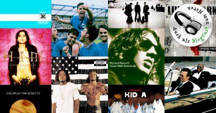 10 Alben, die 2020 bereits ihren 20. Geburtstag feiern