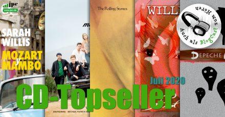 CD-Topseller Juli 2020