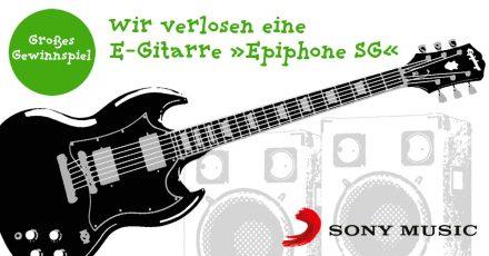 Gewinnspiel: Wir verlosen eine E-Gitarre von Epiphone (beendet!)
