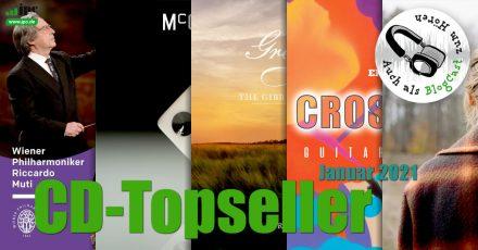 CD-Topseller Januar 2021