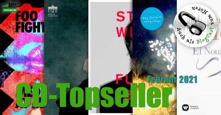 CD-Topseller Februar 2021