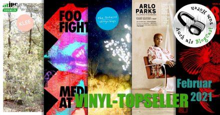 Vinyl-Topseller Februar 2021