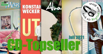 CD-Topseller Juli 2021