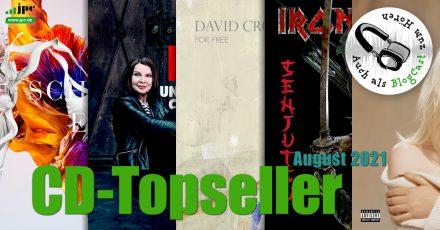 CD-Topseller August 2021