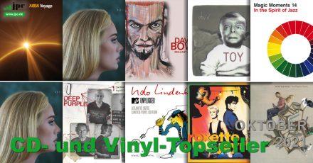 CD- und Vinyl-Topseller Oktober 2021
