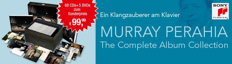 Ein Klangzauberer am Klavier: Murray Perahia – The Complete Edition