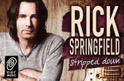 Rick Springfield: Stripped Down (CD + DVD)