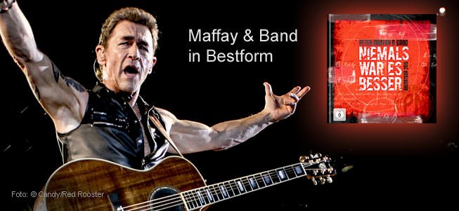Peter Maffay & Band in Bestform