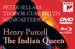 Henry Purcell: The Indian Queen auf DVD und Blu-ray