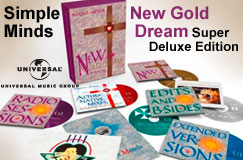 Simple Minds: New Gold Dream (81/82/83/84) (Super Deluxe Edition) (5 CDs + DVD)