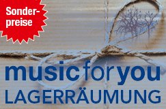 Music-for-you-Serie: Lagerräumung