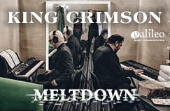 »King Crimson: Meltdown – Live in Mexico« auf 3 CDs und Blu-ray Disc