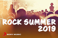 Rock Summer 2019 von Sony Music