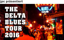 The Delta Blues Tour, 27. September bis 10. Oktober 2016