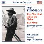 Virgil Thomson (1896-1989): The Plow that Broke the Plains-Suite (Filmmusik), CD