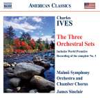 Charles Ives (1874-1954): Orchestral Sets Nr.1-3, CD