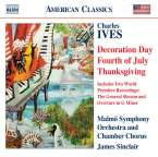 Charles Ives (1874-1954): New Holidays Symphony II-IV für Chor & Orchester, CD