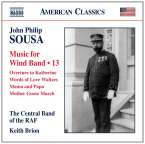 John Philip Sousa (1854-1932): Music for Wind Band Vol.13, CD