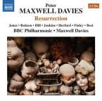 Peter Maxwell Davies (geb. 1934): Resurrection, 2 CDs