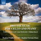 Raphael Wallfisch - British Music for Cello and Piano, CD