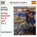 Andres Isasi (1890-1940): Streichquartette Nr.0 & 2, CD