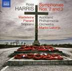 Ross Harris (geb. 1945): Symphonien Nr.2 & 3, CD