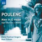 Francis Poulenc (1899-1963): Messe G-dur, CD