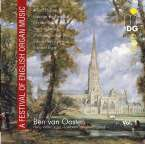 Ben van Oosten - A Festival of English Organ Music, CD