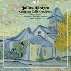 Julius Röntgen (1855-1932): Cellokonzerte Nr.1-3, CD