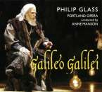 Philip Glass (geb. 1937): Galileo Galilei, 2 CDs