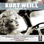 Kurt Weill (1900-1950): Kurt Weill Edition Vol.1, 5 CDs