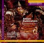 Anton Rubinstein (1829-1894): Lieder, CD
