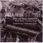 Benjamin Britten (1913-1976): Winter Words op.52, CD