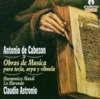 Antonio de Cabezon (1500-1566): Instrumentalwerke Vol.3, CD