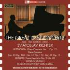 Svjatoslav Richter - The Great Live Concerts (1960 & 1963 in Boston und Leipzig), 2 CDs