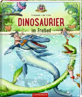 Dinosaurier im Freibad Cover